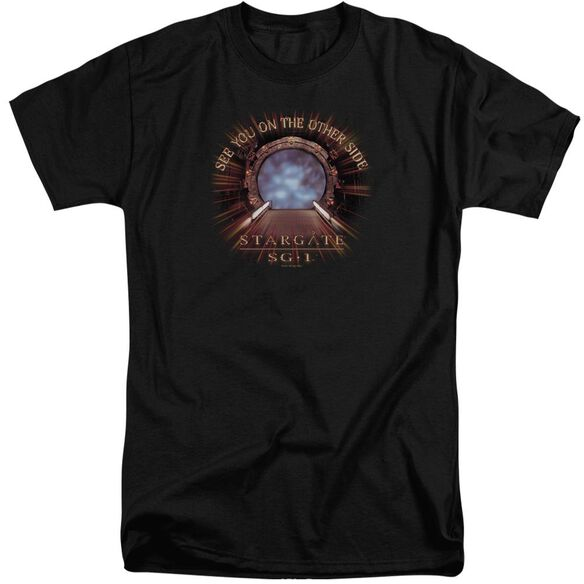 Sg1 Other Side Short Sleeve Adult Tall T-Shirt