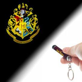 Harry Potter Hogwarts Flashlight Keychain