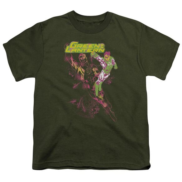 Gl Lantern Spray Short Sleeve Youth Military T-Shirt
