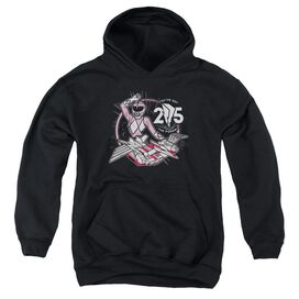 Power Rangers Pink 25 Youth Pull Over Hoodie