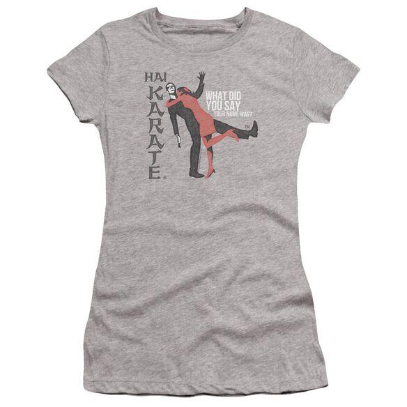 Hai Karate Name Premium Bella Junior Sheer Jersey Athletic