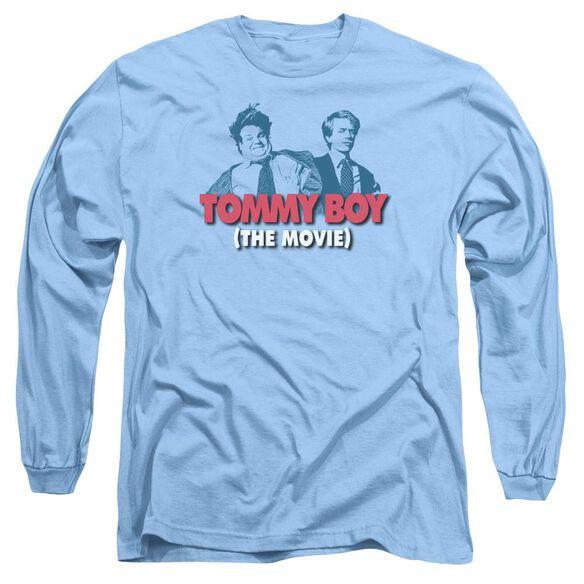 Tommy Boy Logo Long Sleeve Adult Carolina T-Shirt