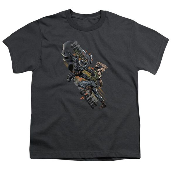 Dark Knight Rises Attack Short Sleeve Youth T-Shirt