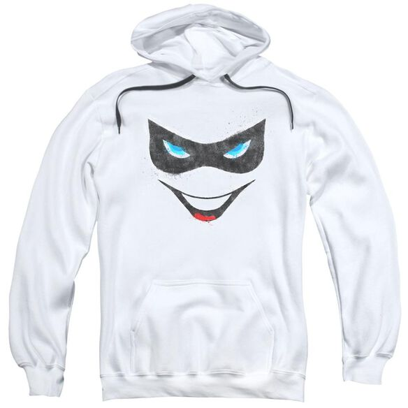 Batman Harley Face Adult Pull Over Hoodie