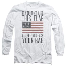 Pack Your Bag Long Sleeve Adult T-Shirt
