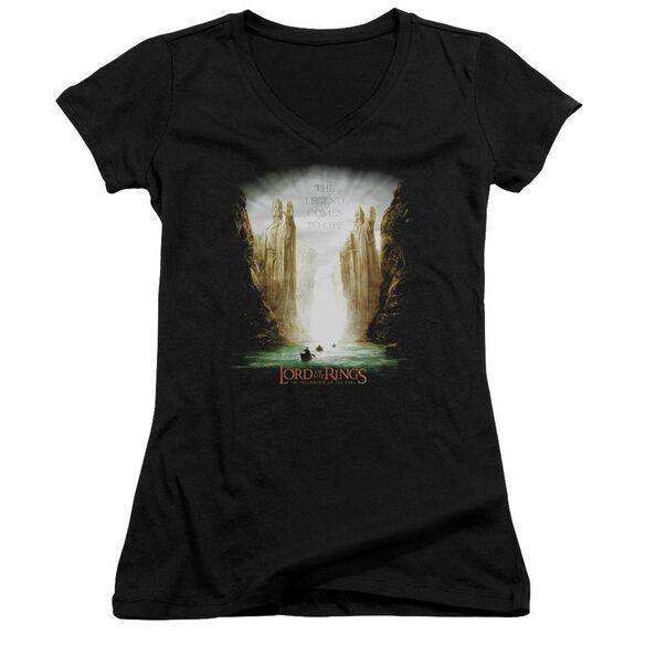 Lor Kings Of Old Junior V Neck T-Shirt