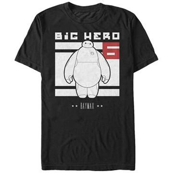 Big Hero 6 Baymax Block T-Shirt