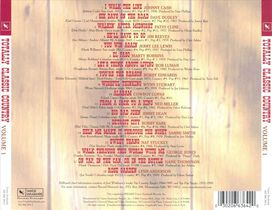 Various Artists - Totally Classic Country, Vol. 1