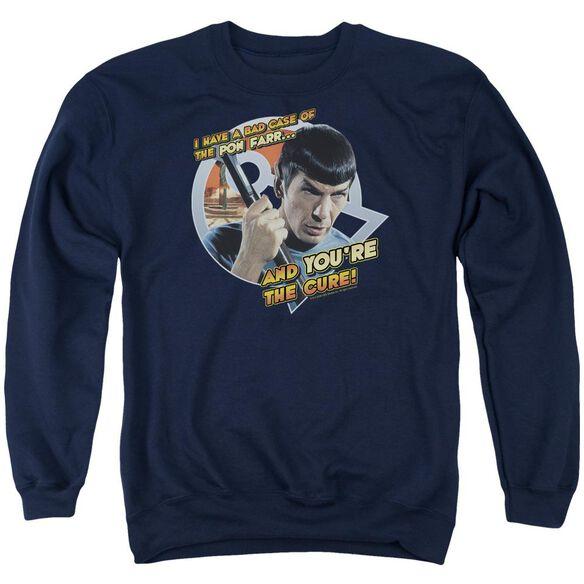Star Trek Pon Far Adult Crewneck Sweatshirt