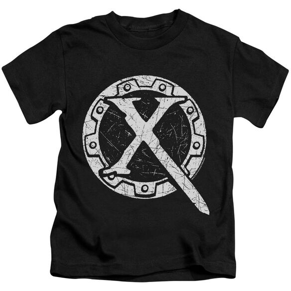 Xena Sigil Short Sleeve Juvenile Black T-Shirt