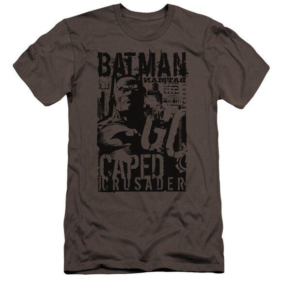 Batman Caped Crusader Premuim Canvas Adult Slim Fit