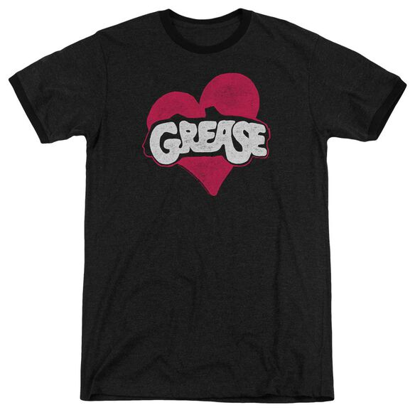 Grease Heart Adult Heather Ringer