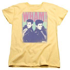 89e8347e2ee Wham Fantastic Wham Short Sleeve Womens Tee T-Shirt