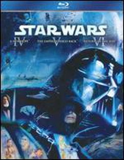 Image of Star Wars: Blu-ray Trilogy Episodes Iv-Vi