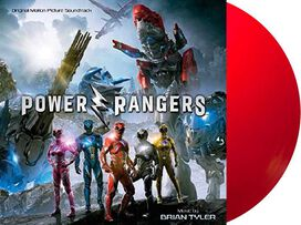 Brian Tyler - Power Rangers [Exclusive Red Ranger Vinyl]