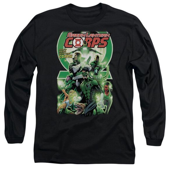 Green Lantern Gl Corps #25 Cover Long Sleeve Adult T-Shirt