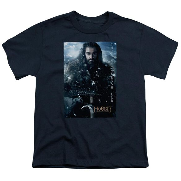 The Hobbit Thorin Poster Short Sleeve Youth T-Shirt