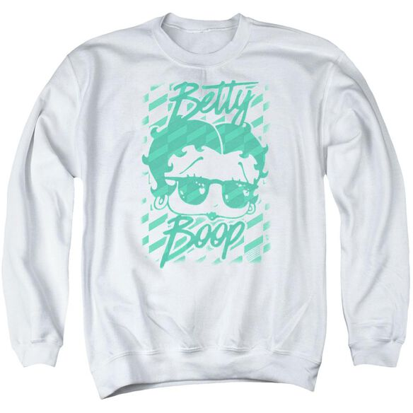 Betty Boop Summer Shades Adult Crewneck Sweatshirt