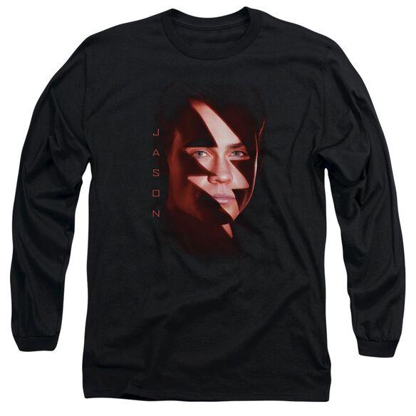 Power Rangers Jason Bolt Long Sleeve Adult T-Shirt