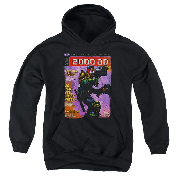Judge Dredd 1067 Youth Pull Over Hoodie