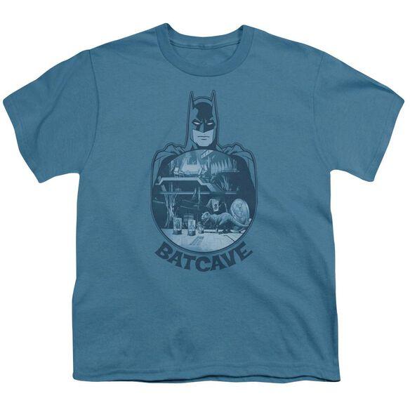 BATMAN BATCAVE - S/S YOUTH 18/1 - SLATE T-Shirt