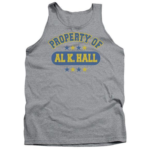 Property Of Al K. Hall Adult Tank Athletic