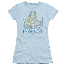 She Ra Power Short Sleeve Junior Sheer Light T-Shirt