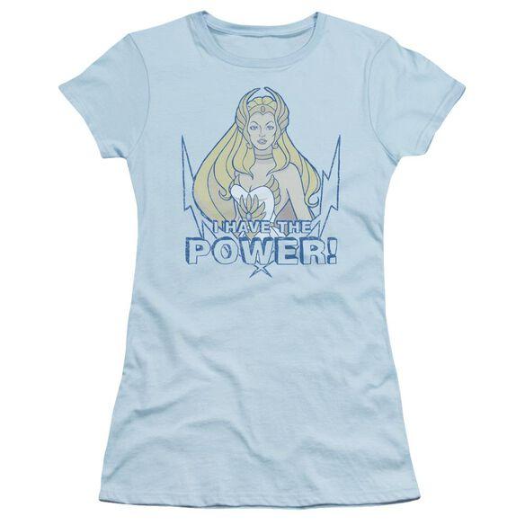 She Ra Power Short Sleeve Junior Sheer Light T-Shirt