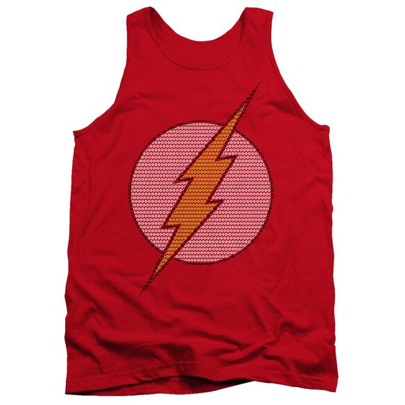 Dc Flash Little Logos Adult Tank