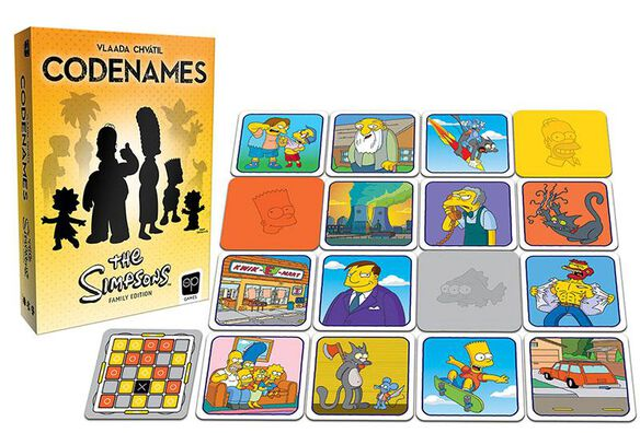 Codenames - The Simpsons Family Edition