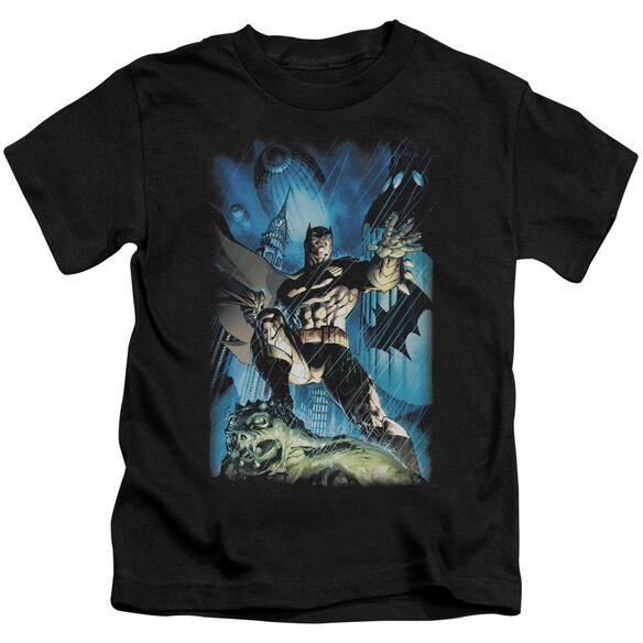 Batman Stormy Dark Knight Short Sleeve Juvenile T-Shirt