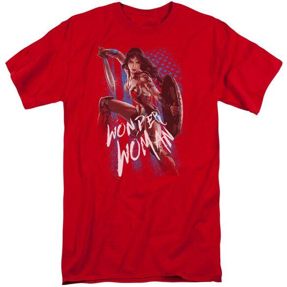 Wonder Woman Movie American Hero Short Sleeve Adult Tall T-Shirt