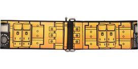 Batman Utility Belt Yellow Cinch Waist Belt