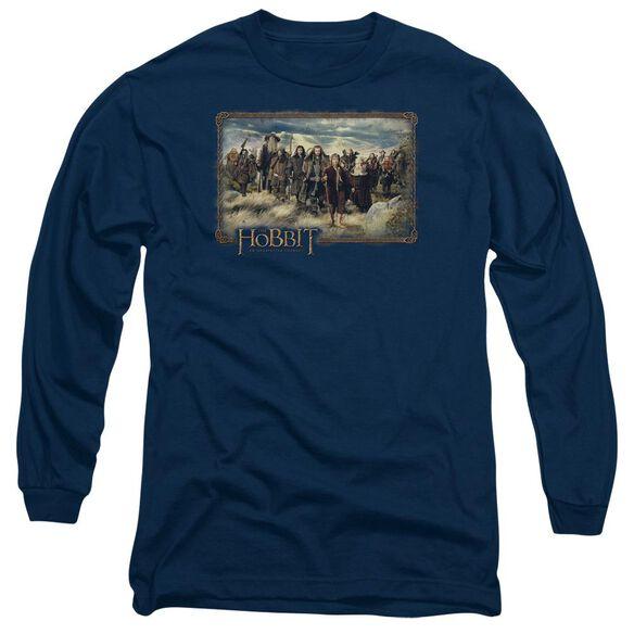 The Hobbit Hobbit & Company Long Sleeve Adult T-Shirt