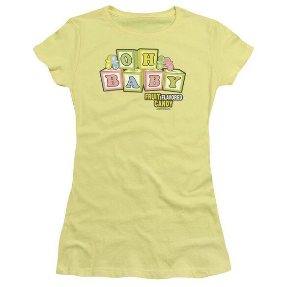 Dubble Bubble Oh Baby Short Sleeve Junior Sheer T-Shirt