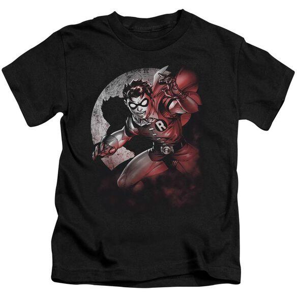 Batman Robin Spotlight Short Sleeve Juvenile Black T-Shirt
