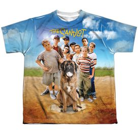 Sandlot Sandlot Poster Short Sleeve Youth Poly Crew T-Shirt