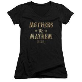 Sons Of Anarchy Mothers Of Mayhem Junior V Neck T-Shirt