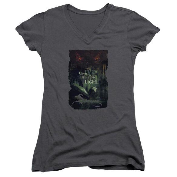 Hobbit Taunt Junior V Neck T-Shirt