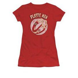 Plastic Man Bounce Juniors T-Shirt