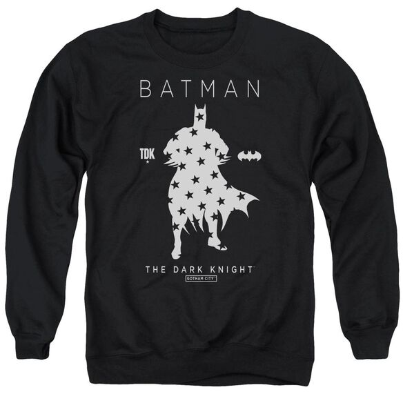 Batman Star Silhouette Adult Crewneck Sweatshirt