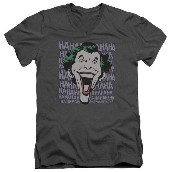 Dc Dastardly Merriment Short Sleeve Adult V Neck T-Shirt