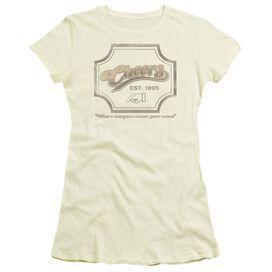 Cheers Sign Short Sleeve Junior Sheer T-Shirt