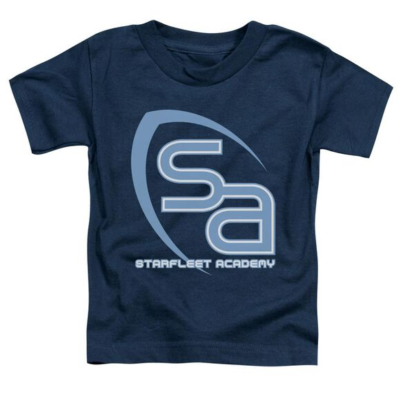 Star Trek Sa Logo Short Sleeve Toddler Tee Navy T-Shirt