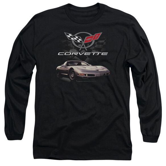Chevrolet Checkered Past Long Sleeve Adult T-Shirt