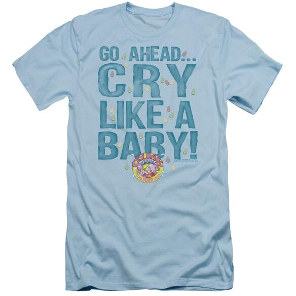 Dubble Bubble Cry Like A Baby Short Sleeve Adult Light T-Shirt