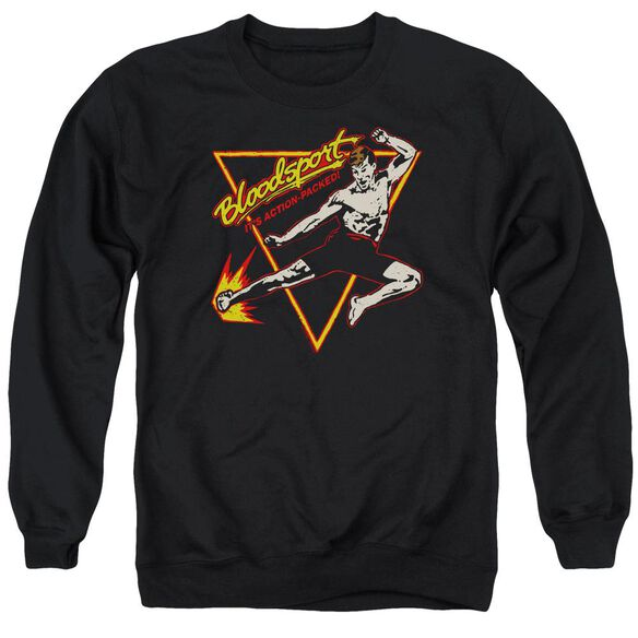 Bloodsport Action Packed Adult Crewneck Sweatshirt
