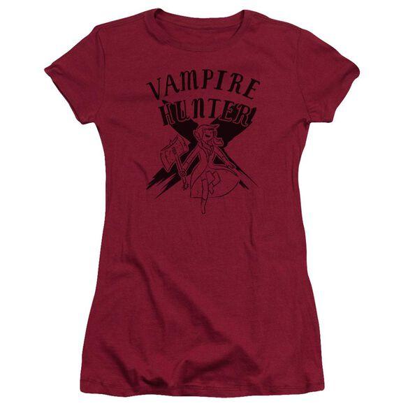 Adventure Time Vampire Hunter Short Sleeve Junior Sheer T-Shirt