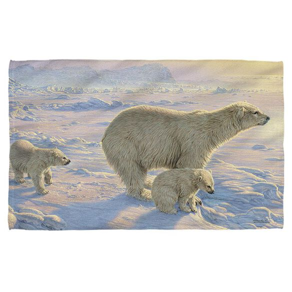 Wild Wings On The Edge 2 Hand/Golf Towel (16x24)