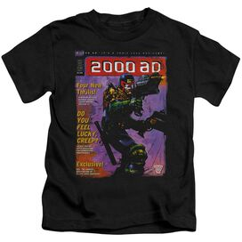 Judge Dredd 1067 Short Sleeve Juvenile Black T-Shirt
